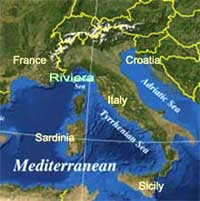 Sail Yacht charter Italy